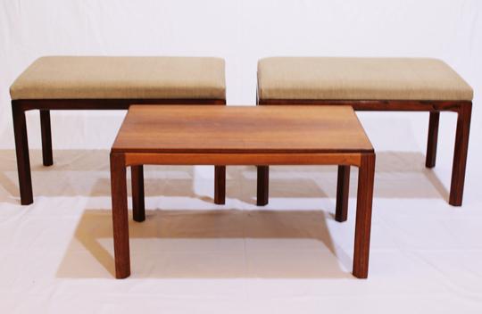 テーブル「ユニット式ベンチ&テーブル」