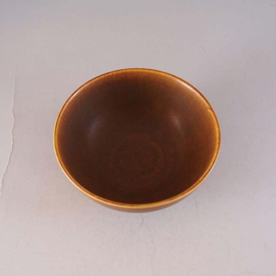 北欧雑貨「黄茶釉鉢」