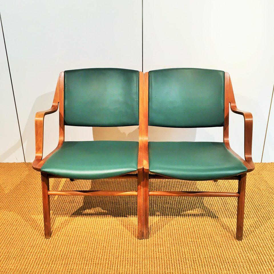 """チェア&ソファ「""""AX-chair""""  ツーシーター」"""