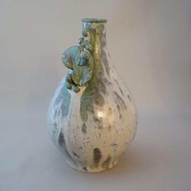 北欧雑貨「草花装飾花瓶」