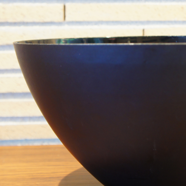 北欧雑貨「Krenit Bowl (black saize:XL)」