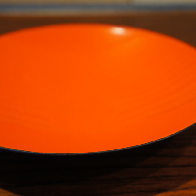 北欧雑貨「Krenit Bowl ( red type:dish)」