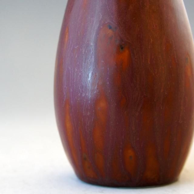 北欧雑貨「茶紫釉SYE花器」