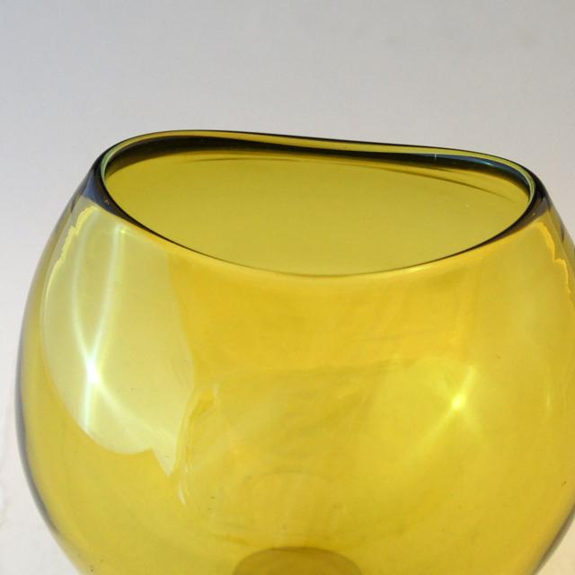 北欧雑貨「Yellow vase」