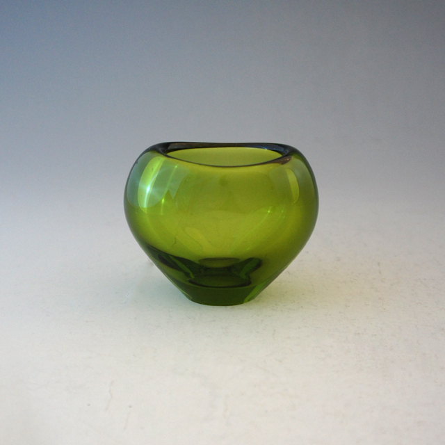 北欧雑貨「Vase:Menuet (small green)」