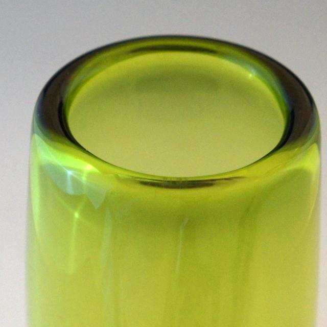 北欧雑貨「Vase:Akva (green)」