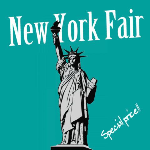 WEBセール第2弾「ニューヨークフェア」開催中です!