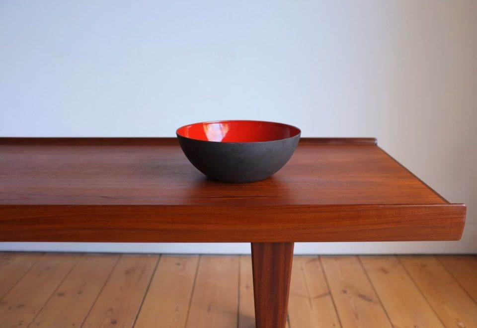 北欧雑貨「Krenit Bowl ( yellow size:L)」