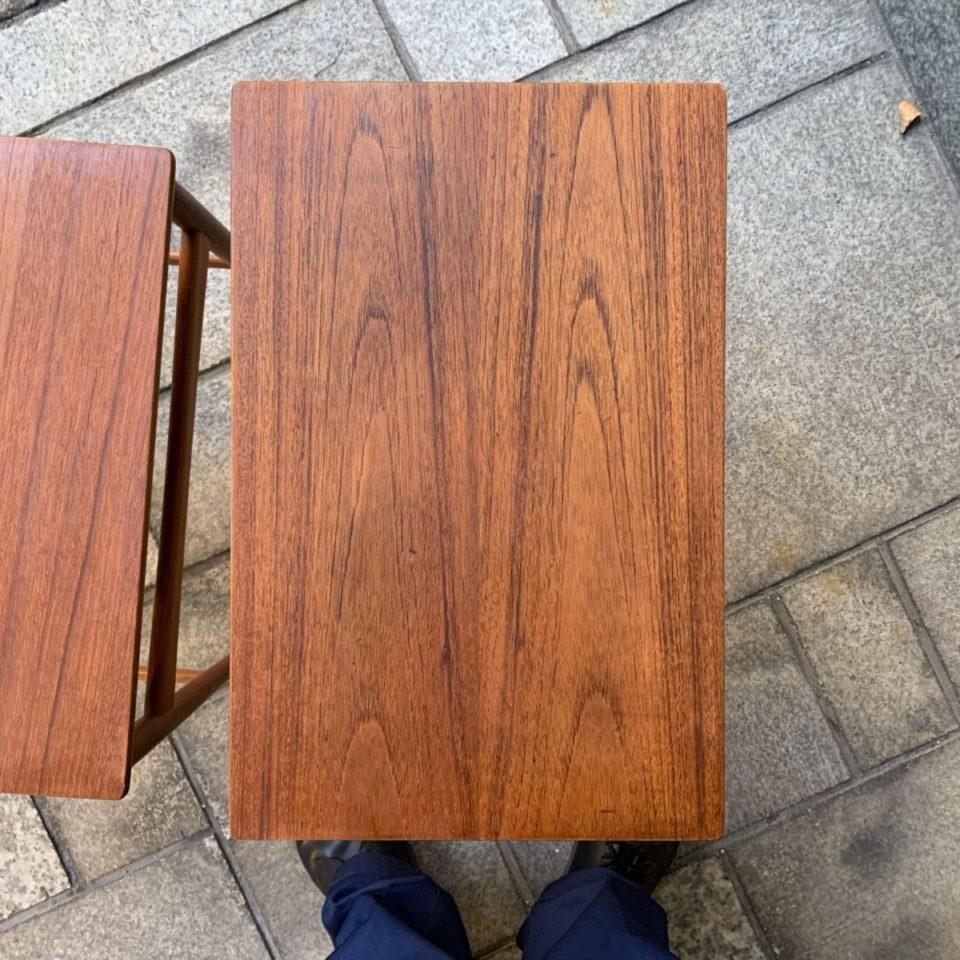 「AT-40  ネストテーブル  (teak × oak )」