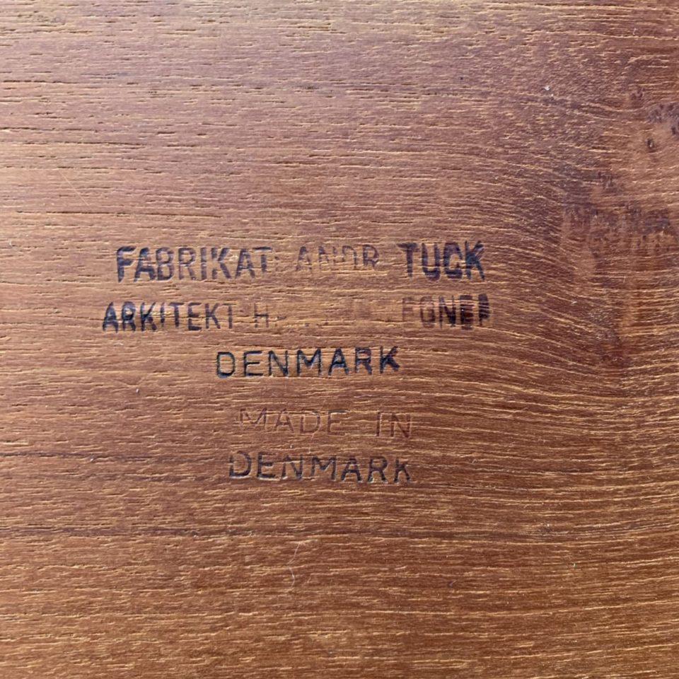 「AT-40  ネストテーブル  ( teak solid )」